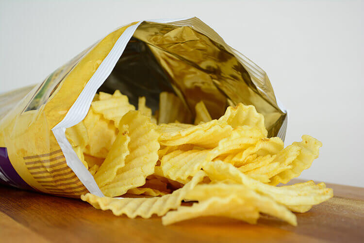pack of crisps
