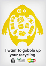 Recycling - character version